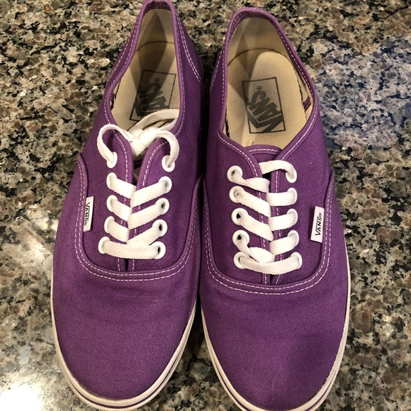 Vans Shoes | Classic Purple | Poshmark
